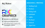 Designing Typing English Hindi Punjabi and printing