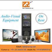 Audio visual Equipment Rental services