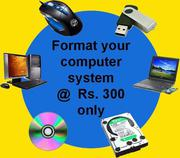 We do all computer repair services & network issue solutions at door