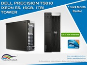 Dell precision T5810  Tower workstation rental with Intel Xeon E5-2683