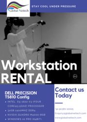 Dell precision T5810 workstation rental| Entry –level workstation rent