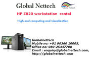 Buy HP Z820 workstation on rental