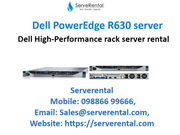 Dell PowerEdge R630 with Xeon E5-2660V4 2 GHz - 32 GB  on rental
