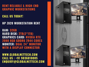 Ultimate performance for ultimate projects HP Z820 workstations rental