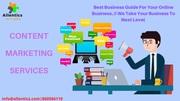 Social Media Online Content Marketing Companies
